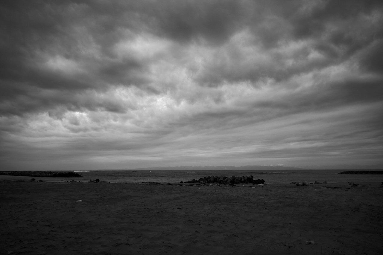 誰もいない海へ行く 20210128 #03_c0082800_22282218.jpg