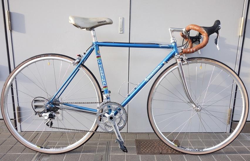 Gudio MESSINA ビンテージロードバイク復活 ロードバイクPROKU_b0225442_18080009.jpg