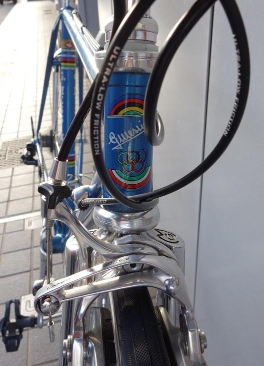 Gudio MESSINA ビンテージロードバイク復活 ロードバイクPROKU_b0225442_18130253.jpg