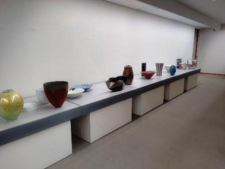 作業日誌(「第8回陶美展」作品搬入展示作業)_c0251346_14463918.jpg