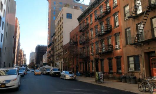 じわじわ、じっくりニューヨークの壁画巡り、チェルシー編(3)新旧ごちゃまぜエリア_b0007805_10035794.jpg