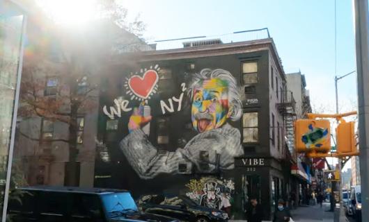 じわじわ、じっくりニューヨークの壁画巡り、チェルシー編(3)新旧ごちゃまぜエリア_b0007805_10153968.jpg