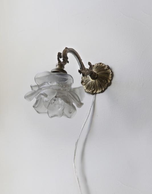 フレンチアンティーク アンティークランプ 照明 薔薇 壁掛け照明 ブラケット ランプ メンテナンス済み_b0179814_17595437.jpeg