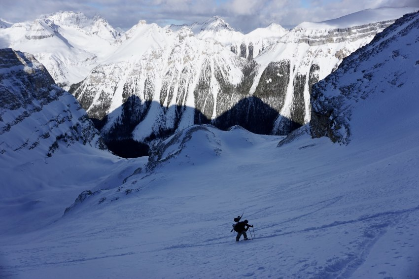 カナディアンロッキーでスキー登山_d0112928_03072403.jpg