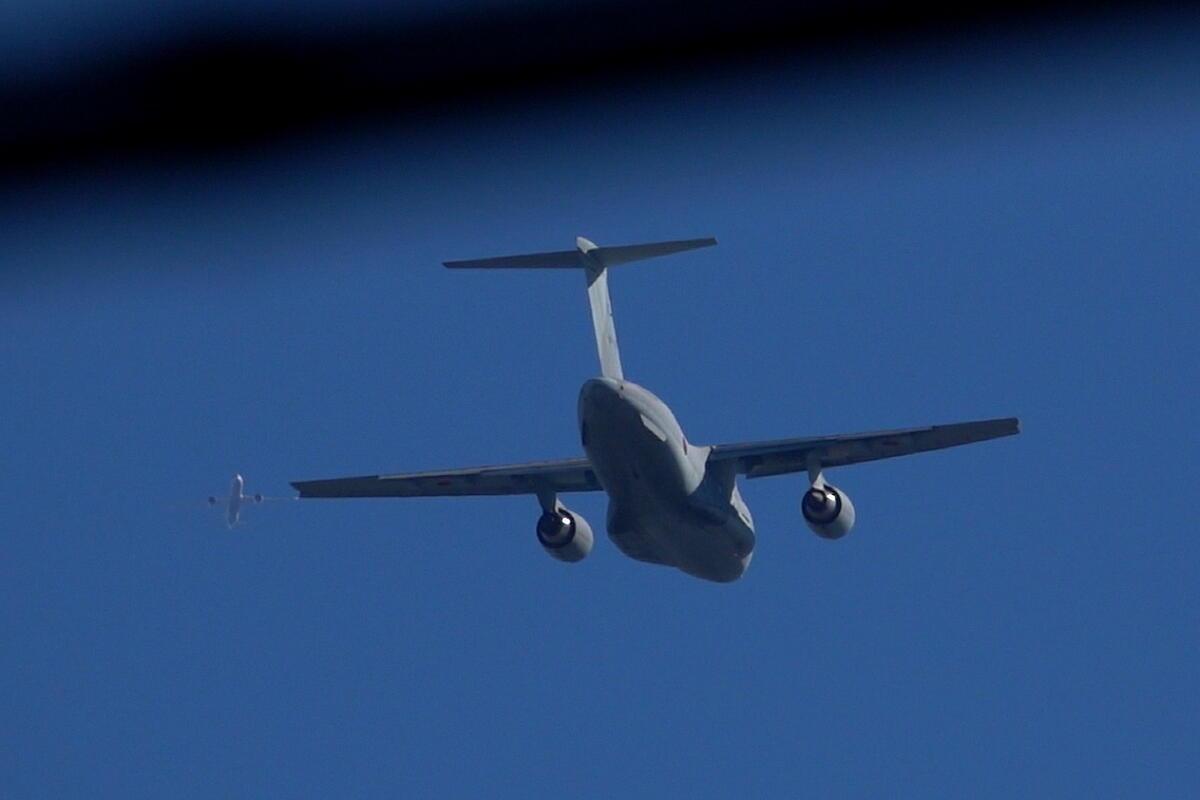 2021年の空挺降下始め本番に向けてC-130・C-1・C-2が真上を通過_d0137627_20044360.jpg