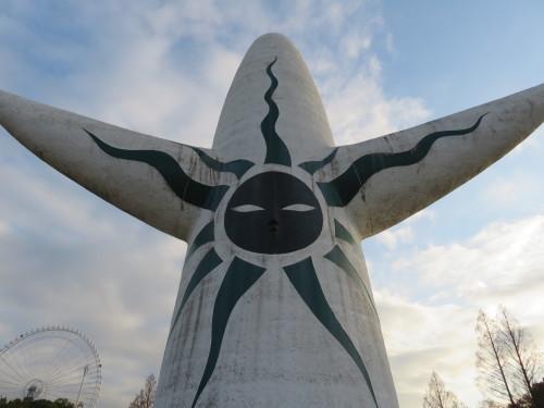 50年ぶり、間近に見る「太陽の塔」!(大阪万博公園にて)_a0279738_14431513.jpg