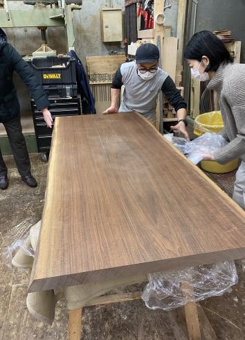 船堀の家 テーブル製作 _b0144558_20405798.jpg