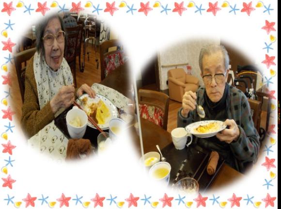 1/22  手作り昼食 ~オムライス~_e0374682_01533470.png