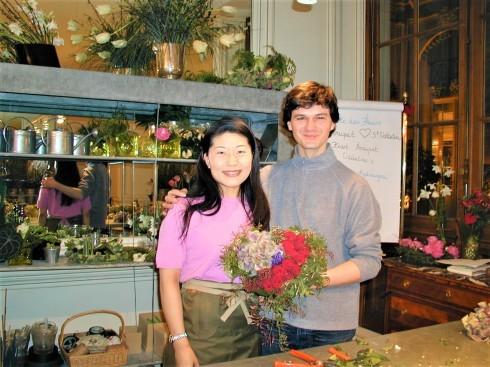 エリック・ショヴァン氏Eric CHAUVIN パリのお花教室_c0122889_14260767.jpg