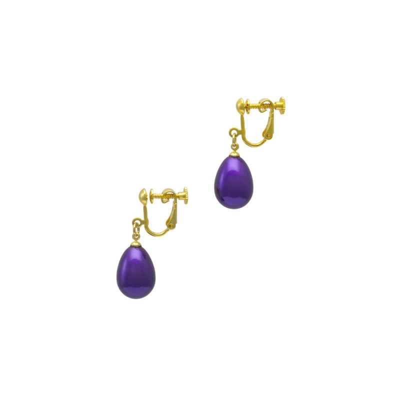 身につける漆 漆のアクセサリー イヤリング 華蜜珠 本紫色 坂本これくしょんの艶やかで美しくとても軽い和木に漆塗りのアクセサリー SAKAMOTO COLLECTION wearable URUSHI accessories earrings Flower Honey Jewel True purple color 花のつぼみを思わせるふっくらとした人気のフォルムが愛らしく遊び心あるデザインが印象的、黒漆に蒔絵の技法で銀色粉を蒔いた発色の良い上品でクールな印象のオリジナルパープルカラー、大切な方へのプレゼントにも喜ばれています。 #イヤリング #earrings #華蜜珠 #FlowerHoneyJewel #本紫色 #Truepurple #紫イヤリング #軽いイヤリング #漆のイヤリング #漆のアクセサリー #耳が痛くない #accessories #jewelry #SakamotoCollection