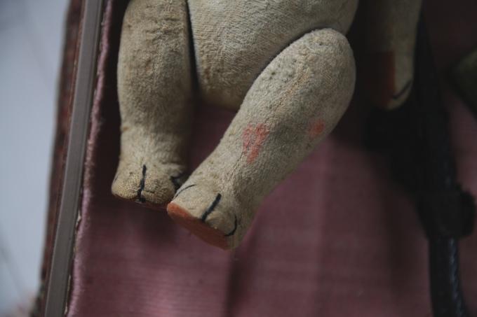 フレンチアンティーク ベア アンティークベア ガラスアイ 手足の関節が動きます ぬいぐるみ_b0179814_19453952.jpeg