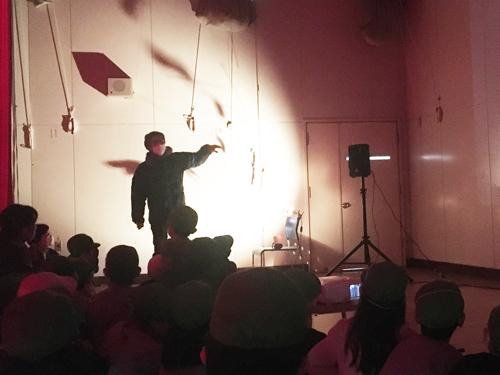 【おとどけアート 小林大賀 × 西岡南小学校】12/8 <3>_a0062127_01433569.jpg