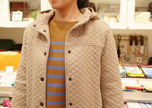ARMENの定番コットンキルティングジャケットです。_c0227633_14220926.jpg