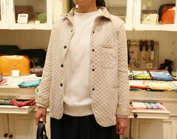 ARMENの定番コットンキルティングジャケットです。_c0227633_14230229.jpg