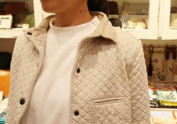 ARMENの定番コットンキルティングジャケットです。_c0227633_14231897.jpg