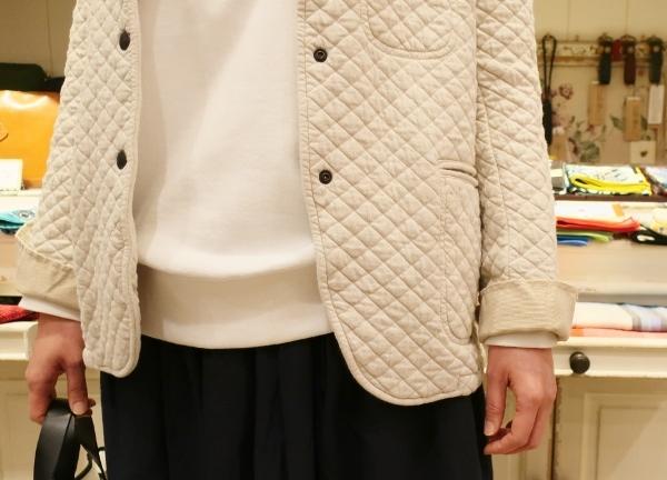 ARMENの定番コットンキルティングジャケットです。_c0227633_14233083.jpg
