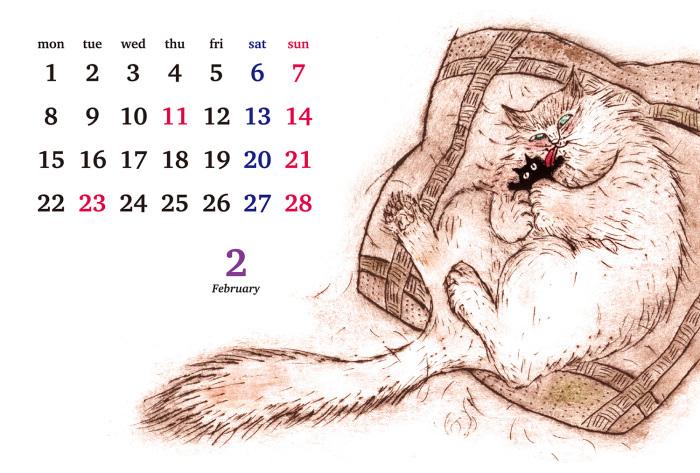 natsu2021.2.1 no.489 番外編 2月の黒猫_e0026053_13254428.jpg