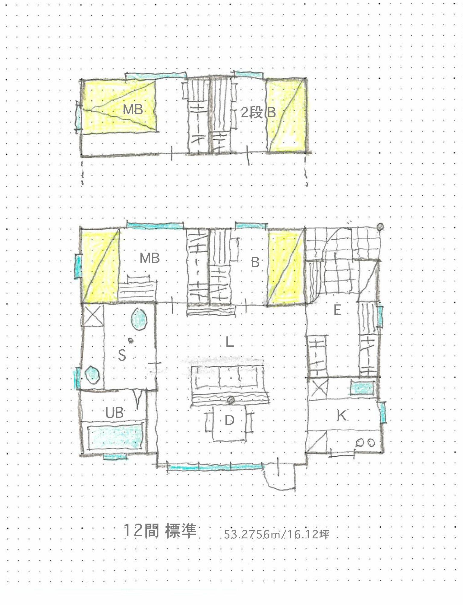 いえのえほん設計篇/7尺モジュール・小屋から住宅へ_c0189970_13365171.jpg
