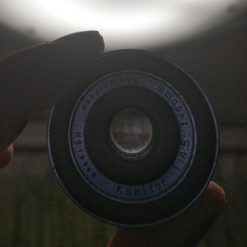 ★Konitor 50mm f4.5をクリーニング。_e0291683_22585659.jpg