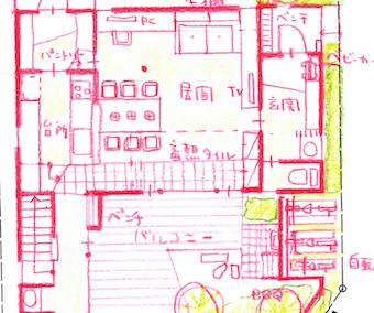 スケッチプランは色鉛筆で_c0016913_14353333.jpg