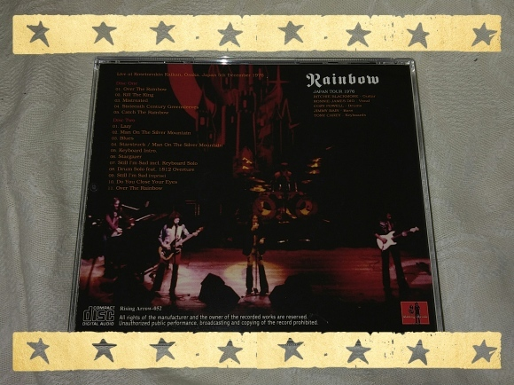 BLACKMORE\'S RAINBOW / OSAKA 1976 1ST NIGHT_b0042308_20005781.jpg