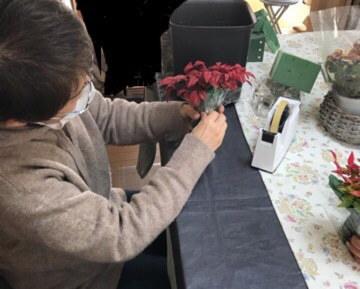 ラッキーカラーのお花を飾りましょう(#^.^#)_b0151911_11024541.jpg