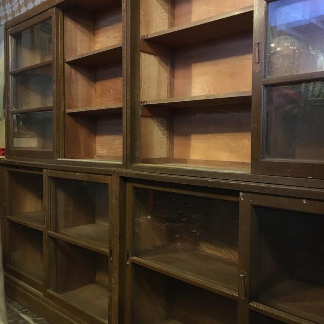 古道具 食器棚 書棚 本棚_e0243096_21390820.jpeg