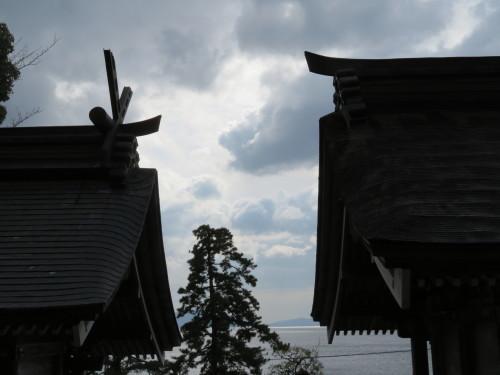 琵琶湖・湖西の名所散策❶『鵜川の石仏&白髭神社』_a0279738_14502305.jpg