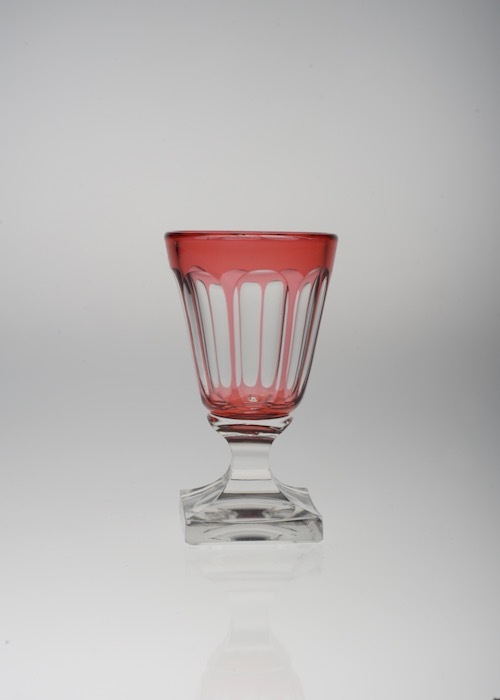 バカラ 赤被せガラス  リキュールグラス_c0108595_21293524.jpeg