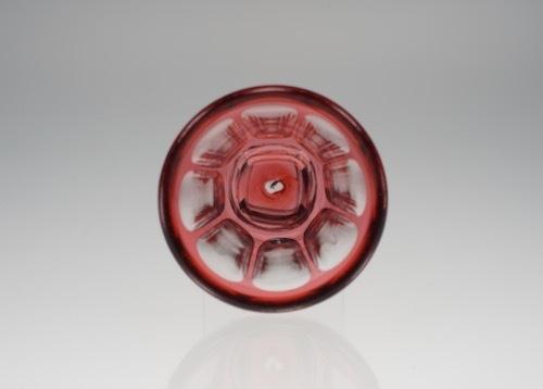 バカラ 赤被せガラス  リキュールグラス_c0108595_21360679.jpeg
