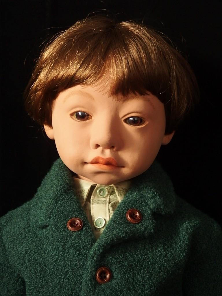 モスグリーンジャケットの少年_d0079147_17273018.jpg