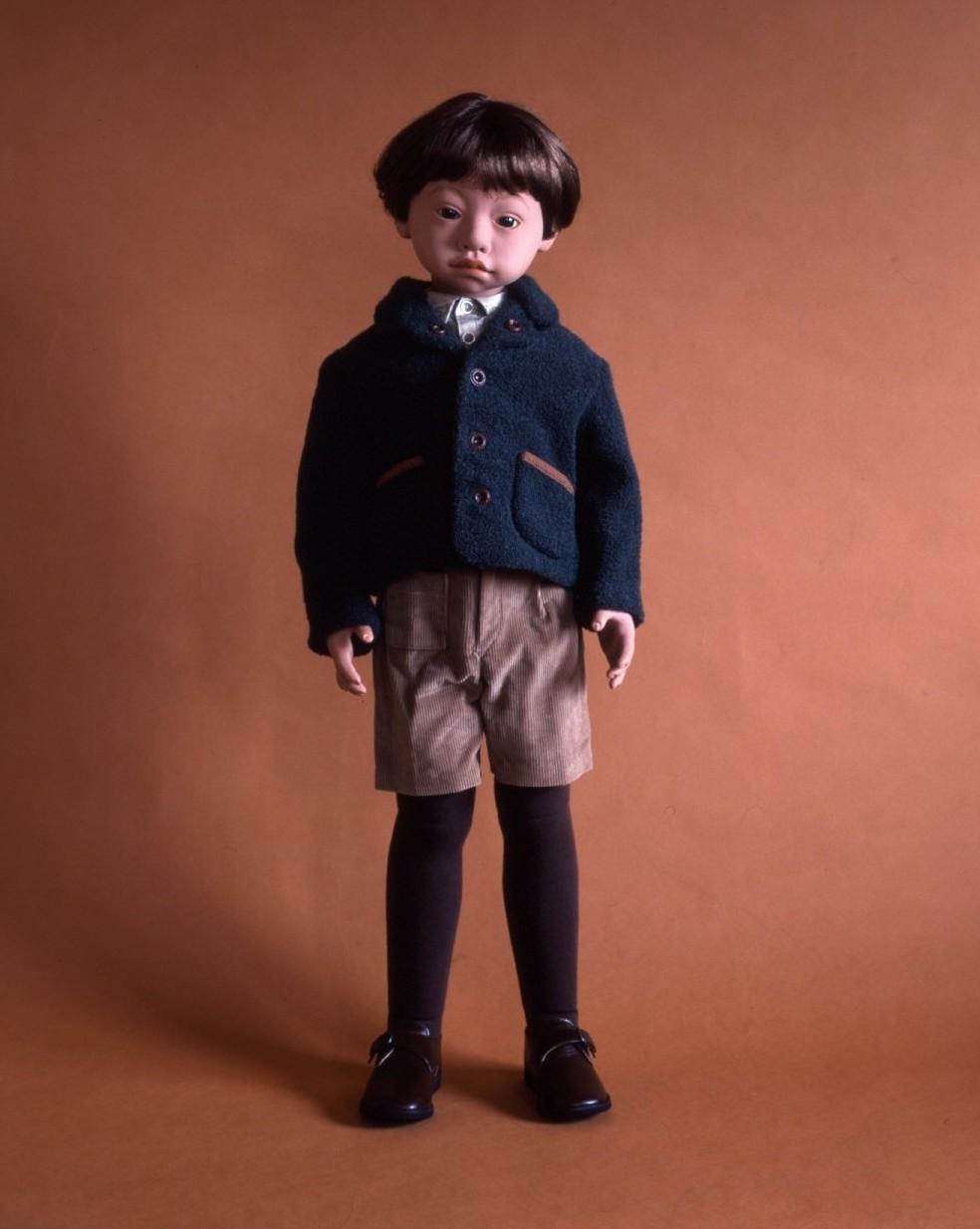 モスグリーンジャケットの少年_d0079147_17274650.jpg