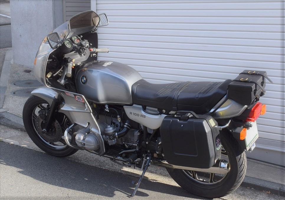 R100RS 後期型モノレバー車専用リアバッグ _a0155648_23283458.jpg