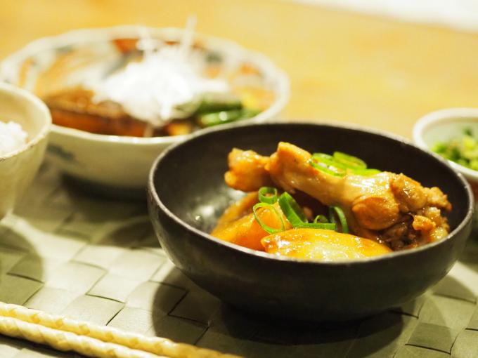 三浦大根で 鶏肉と大根の中華風煮込み 葛餡_b0347858_21461113.jpg