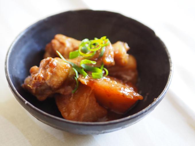 三浦大根で 鶏肉と大根の中華風煮込み 葛餡_b0347858_21492781.jpg