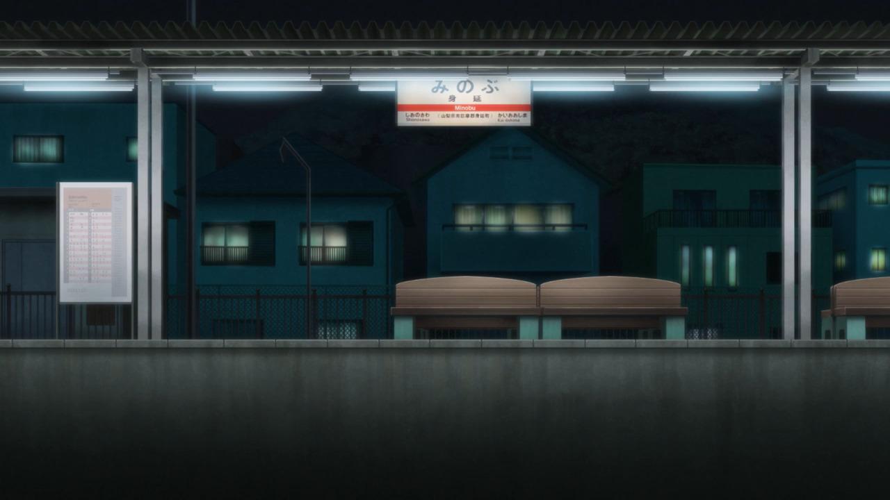 「ゆるキャン△S2」舞台探訪06 バイトのお金で何を買う,新たなバイトも 舞台は身延町のはず(第4話)_e0304702_12142285.jpg