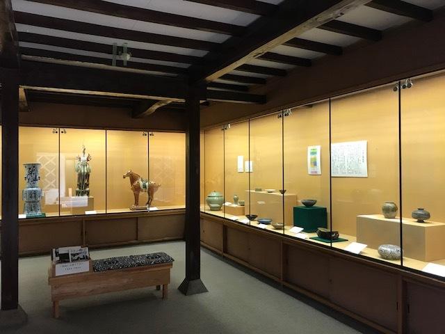 集古館の常設展示_e0135219_10500602.jpg