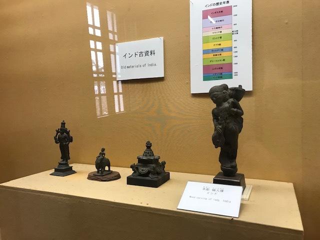 集古館の常設展示_e0135219_10500659.jpg