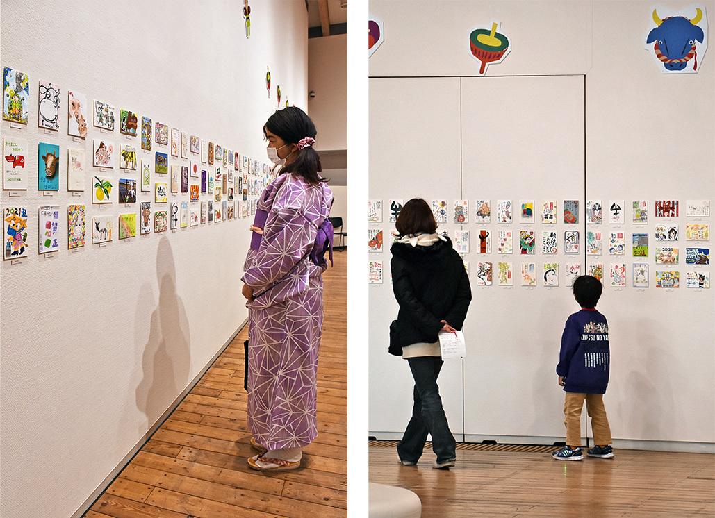 〈アートな年賀状展2021〉が終了しました_c0222139_11482078.jpg