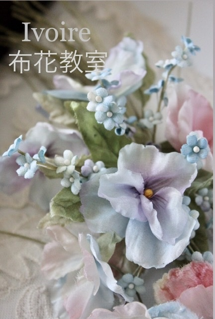季節の布花レッスン...♪*゚_f0372557_14361387.jpeg