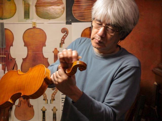 ヴァイオリンのニス、磨き作業のご紹介_d0047461_05472532.jpg