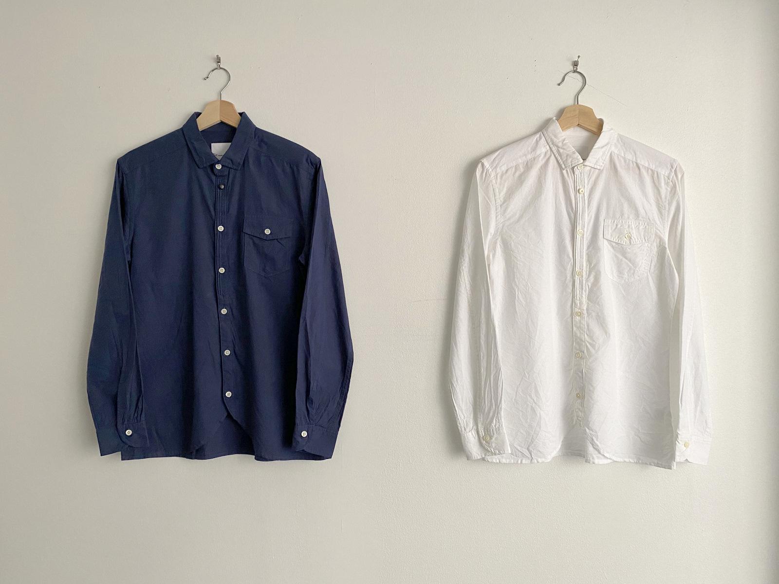Compact Ox Round Hem Shirt_c0379477_13193443.jpg