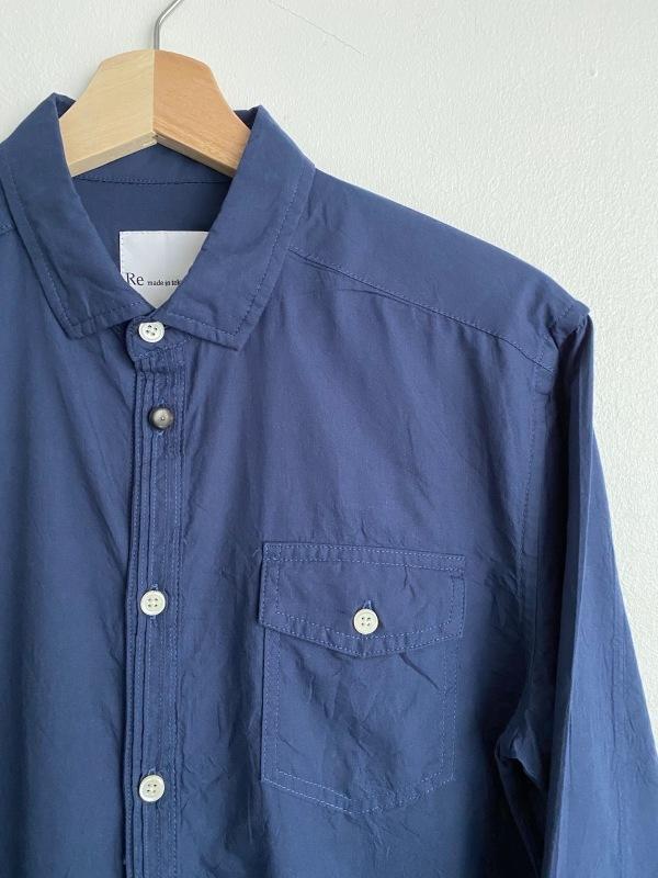 Compact Ox Round Hem Shirt_c0379477_13200094.jpeg