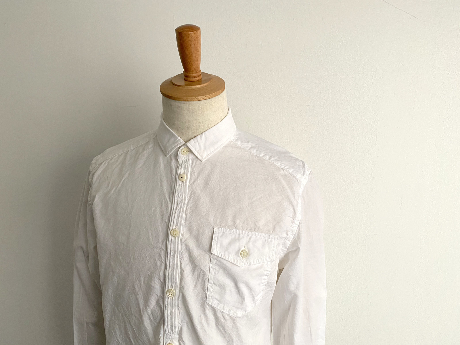 Compact Ox Round Hem Shirt_c0379477_13201571.jpg
