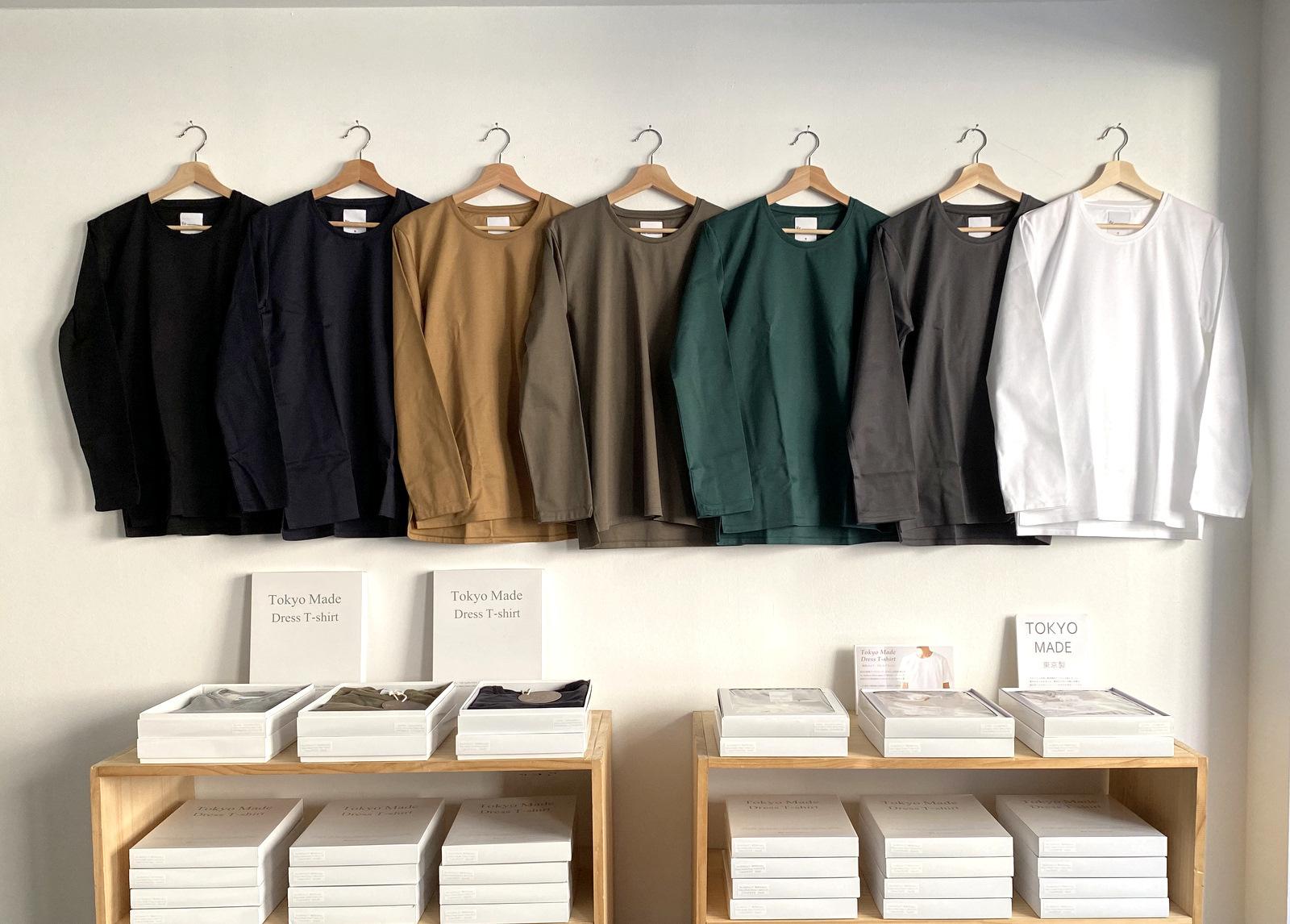 Tokyo Made Dress T-shirt (Long Sleeve)_c0379477_13274440.jpg
