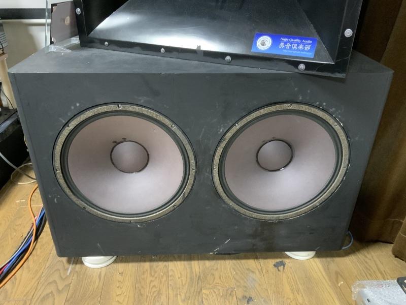 """Dyton Audio RSS390-PR 15\""""パッシブラジエーターを使ってみました。」_b0052286_20330250.jpg"""