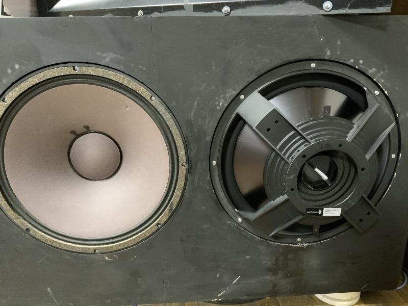 """Dyton Audio RSS390-PR 15\""""パッシブラジエーターを使ってみました。」_b0052286_20374719.jpg"""