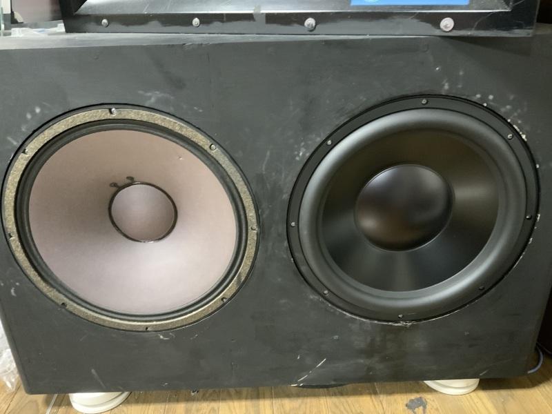 """Dyton Audio RSS390-PR 15\""""パッシブラジエーターを使ってみました。」_b0052286_20412630.jpg"""