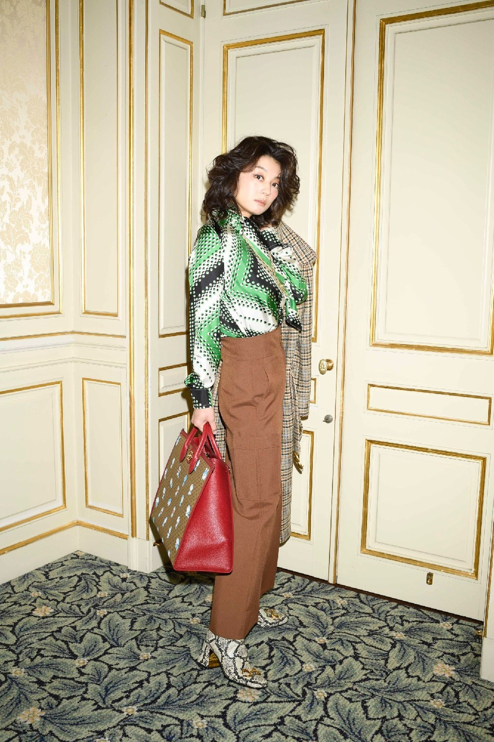 小池栄子×GUCCI 『In Red』♪_d0339889_12382701.jpg