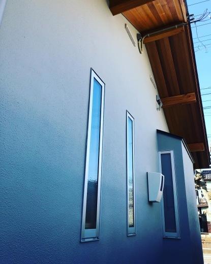 外壁、外構工事 色合わせ_a0129492_15490351.jpeg